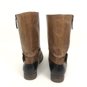 Vince Camuto Shoes - Vince Camuto Size 8 Shada Mid-Calf Moto Boots